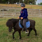 Me riding JJ