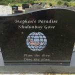 Steve's grave 1